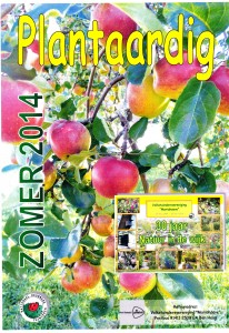 Cover plantaardig zomer 2014 - site